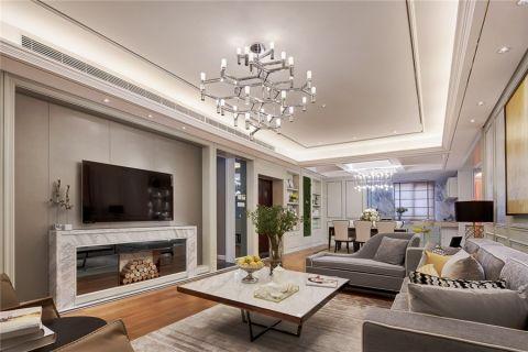 现代风格160平米楼房装修效果图