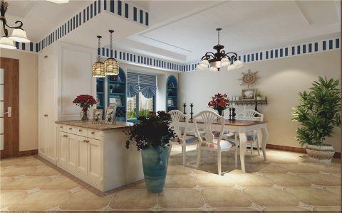 餐厅吊顶地中海风格效果图