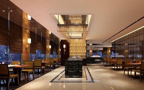 金海悦现代风格大酒店装潢效果图