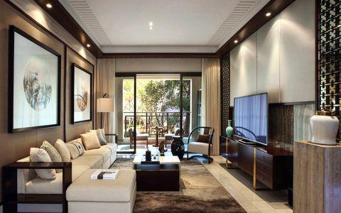 2020中式150平米效果图 2020中式别墅装饰设计