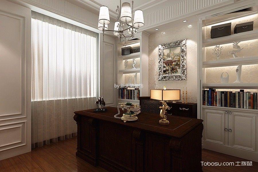 2019后现代书房装修设计 2019后现代窗帘设计图片