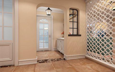 玄关隔断美式风格装潢图片