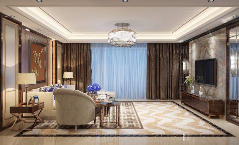 新古典风格230平米大户型新房装修效果图