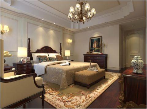 欧式风格140平米四室两厅新房装修效果图