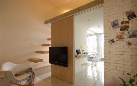 现代风格60平米复式新房装修效果图