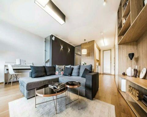 混搭风格110平米复式楼室内装修效果图