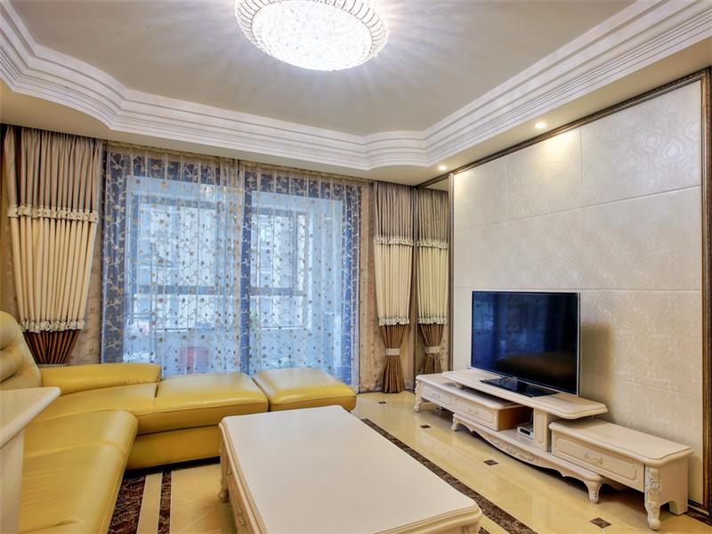3室1卫2厅100平米简欧风格