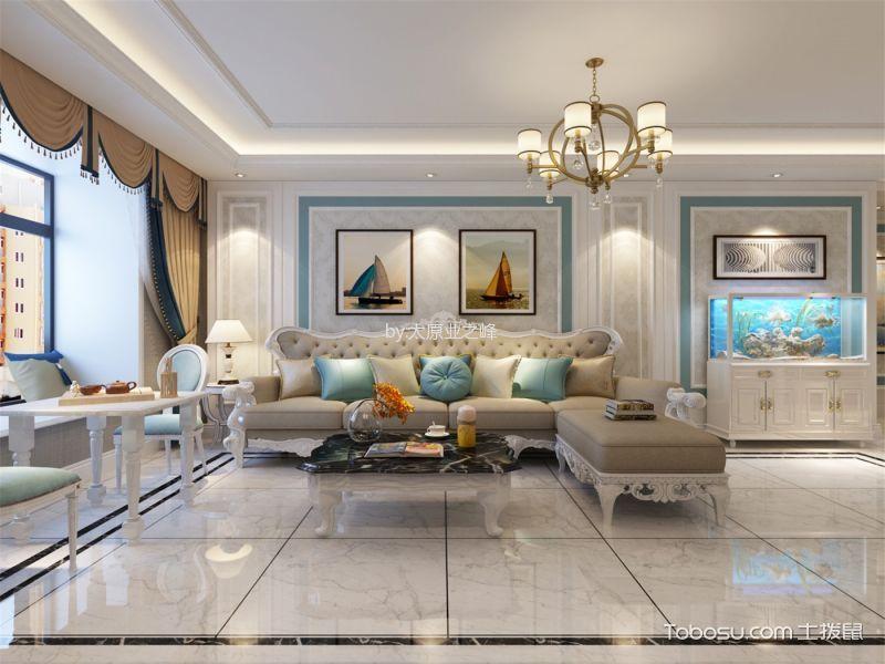 简欧风格146平米四室两厅新房装修效果图