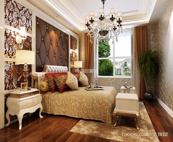 2019洛可可卧室装修设计图片 2019洛可可床头柜装修设计图片