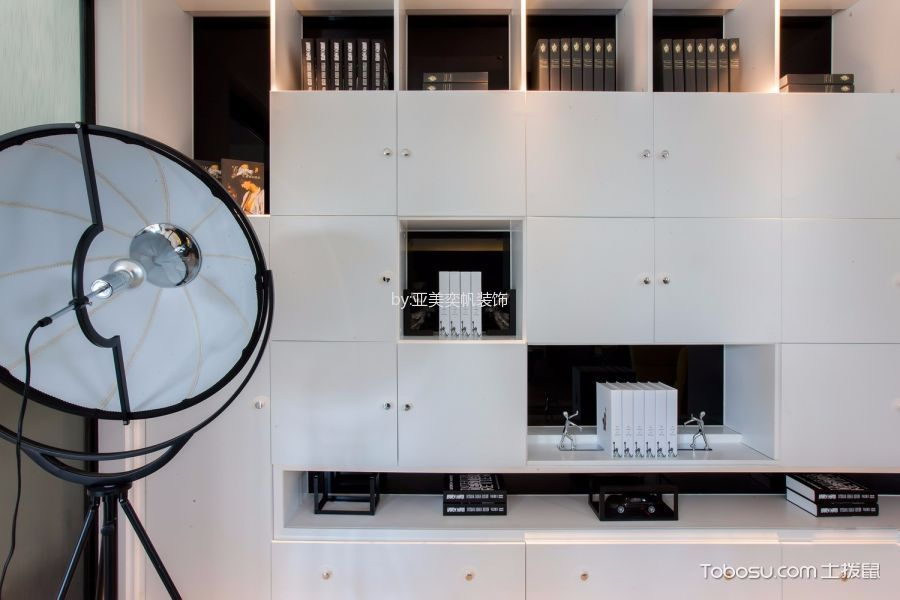 客厅白色细节简约风格装修效果图