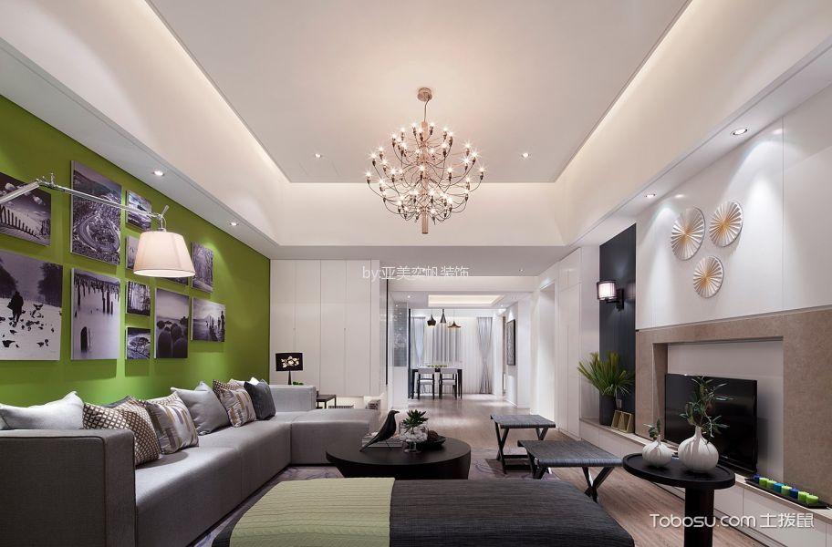 简约风格150平米大户型新房装修效果图