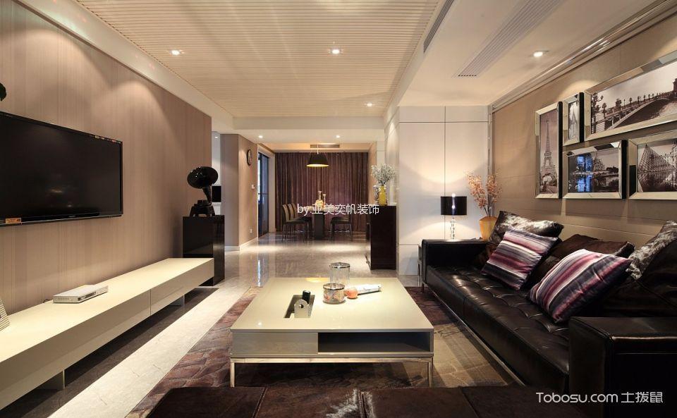 现代风格100平米公寓室内装修效果图