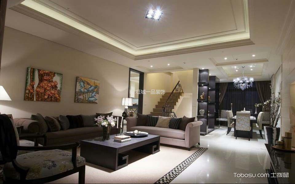 新古典风格340平米别墅新房装修效果图