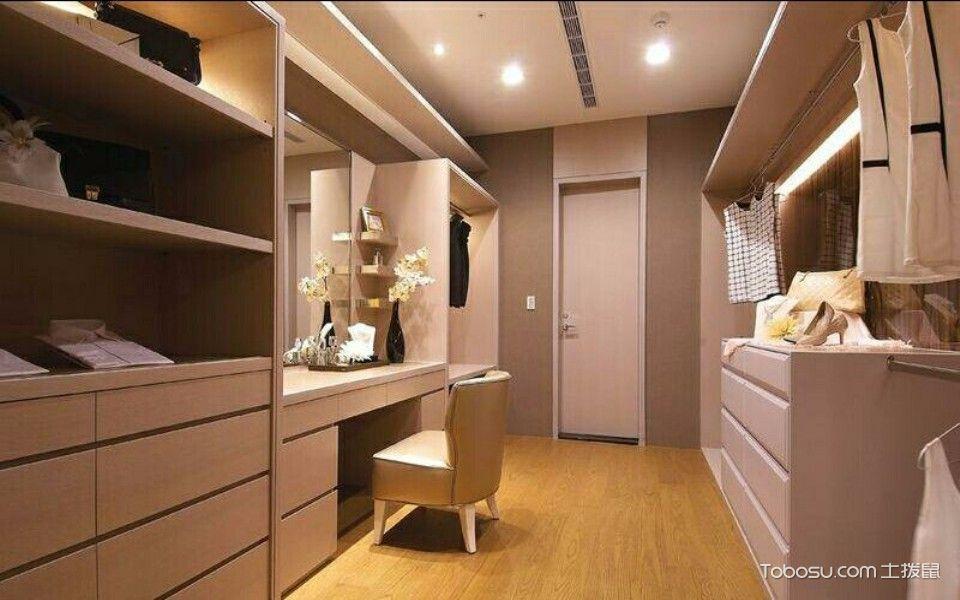 锦盛恒富得140平米简欧三居室装修效果图