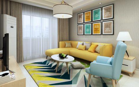 简约风格100平米套房室内装修效果图