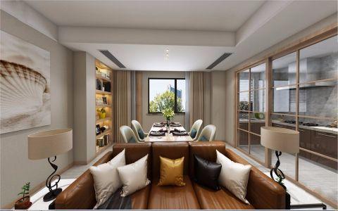 现代风格130平米套房室内澳门银河娱乐官网