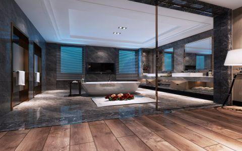 简约风格140平米复式新房装修效果图