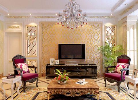 2019洛可可90平米装饰设计 2019洛可可二居室装修设计