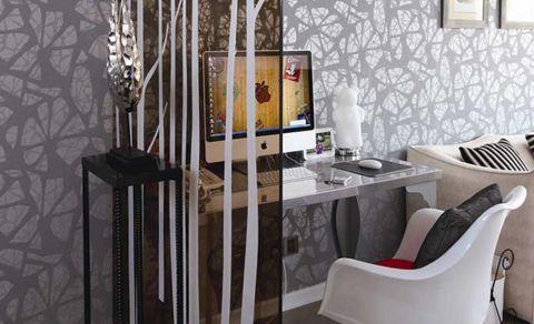 2018现代客厅装修设计 2018现代书桌装修图片