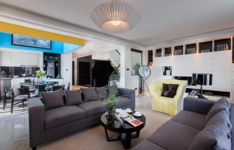 简约风格200平米别墅室内装修效果图