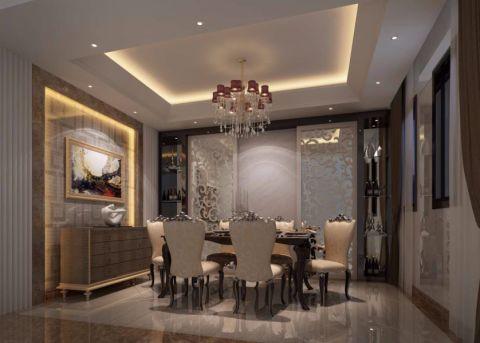 新古典风格190平米别墅室内装修效果图