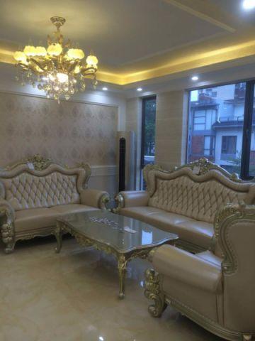 客厅吊顶新古典风格装潢图片