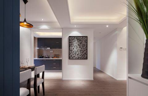 餐厅地板砖简约风格装饰设计图片