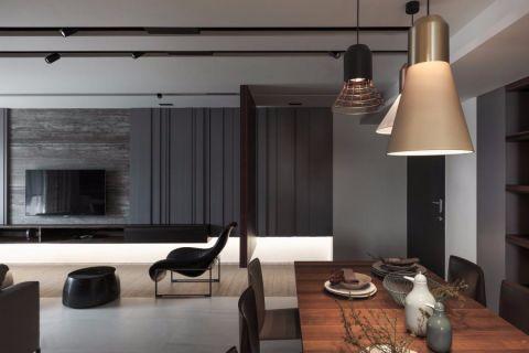 现代风格98平米三室两厅新房装修效果图