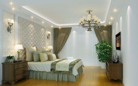 卧室窗帘欧式风格装修图片