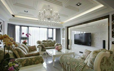 简欧风格120平米公寓新房装修效果图