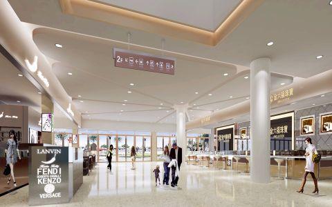 东莞道滘商业广场装修效果图