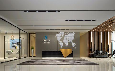 东莞邦邻科技有限公司办公室装修效果图