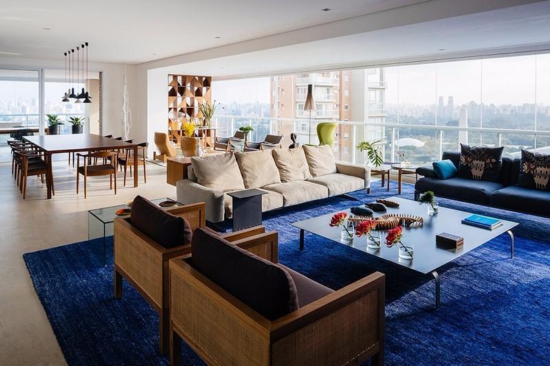 2室1卫1厅120平米现代简约风格