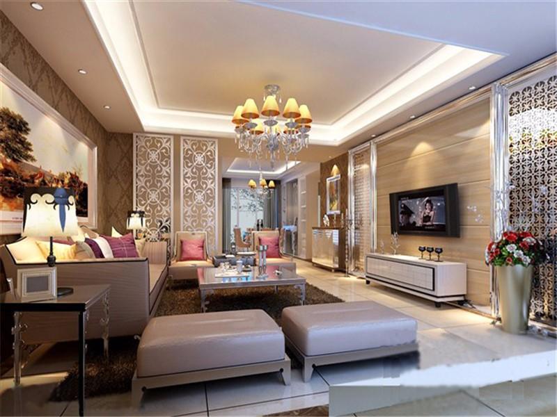 2室1卫1厅100平米欧式风格
