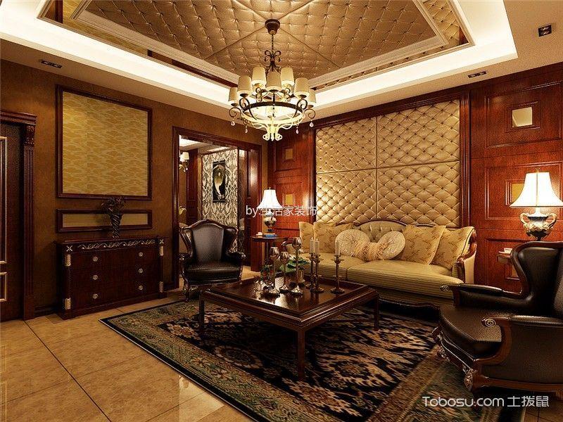 滨海壹号古典欧式别墅风格设计案例