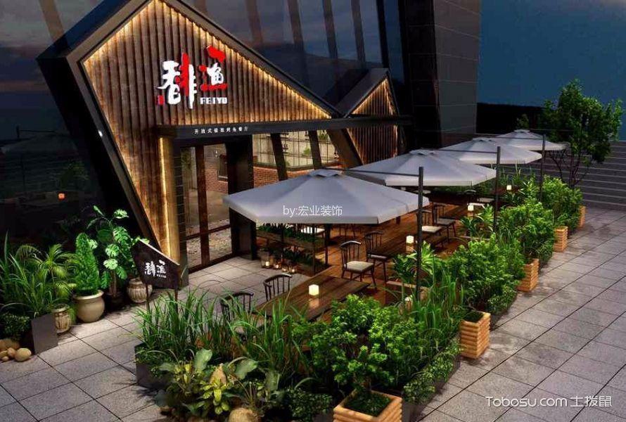 主题餐厅外餐厅装饰实景图片