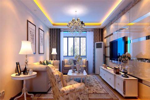 简欧风格100平米楼房室内装修效果图