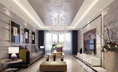 首开香溪郡80平米现代二居室装修设计