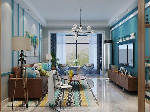 现代简约风格120平米三室两厅新房澳门银河娱乐官网