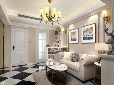 混搭风格100平米三室两厅新房澳门银河娱乐官网