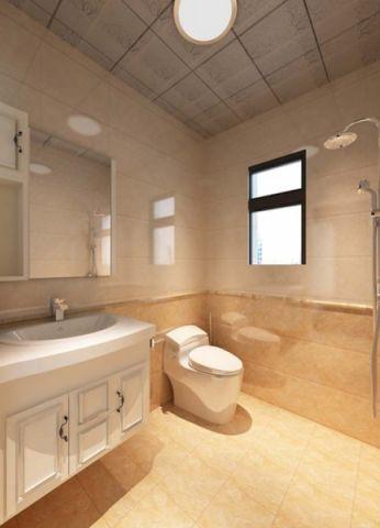 卫生间洗漱台欧式室内装修图片