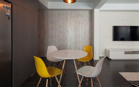 130平三室两厅两卫现代装修设计