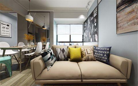 紫阳新苑90平现代风格套房装修效果图