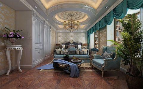 法式风格340平米别墅室内装修效果图