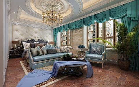 卧室吊顶法式风格效果图