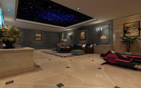 客厅法式风格装饰效果图