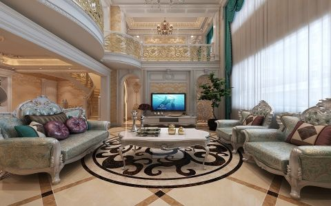 客厅法式风格装饰图片