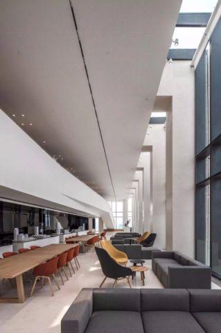 现代风格办公室装修效果图