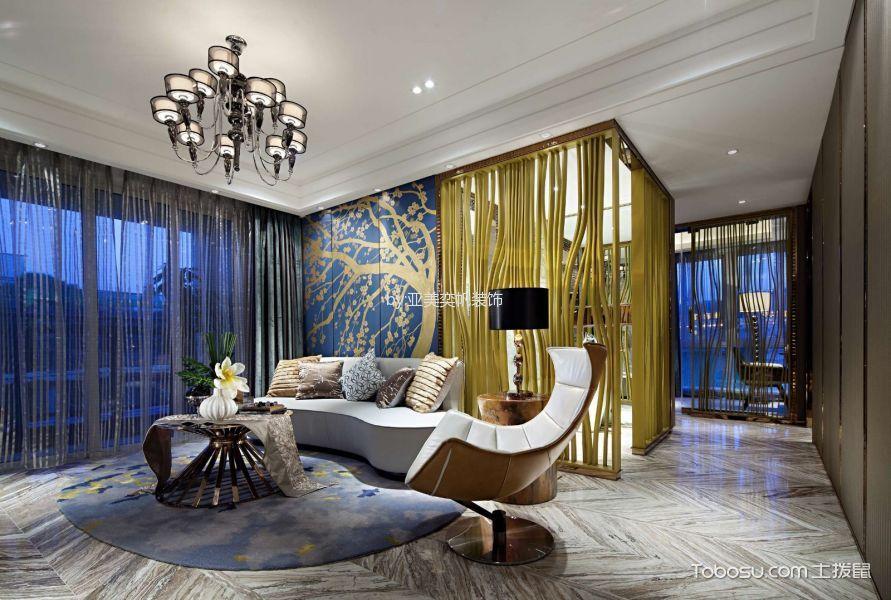 100平米新古典风格装修设计案例