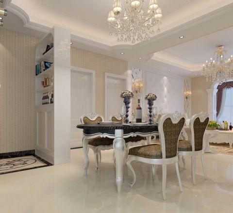 干净餐厅欧式装饰设计